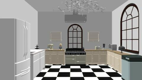 Kitchen - Retro - Kitchen - by madisutton