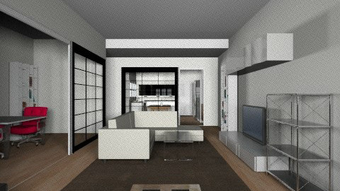 salon POSIBILIDAD 2 crist - Living room - by parrastaka