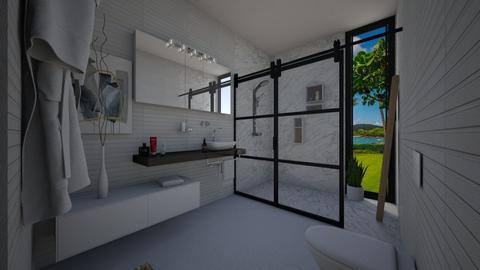 white charm - Bathroom - by flacazarataca_1