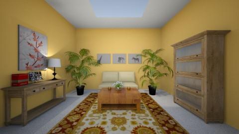 Living room - by gr8bydezine
