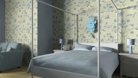 blue heaven - Country - Bedroom - by lollipop1203