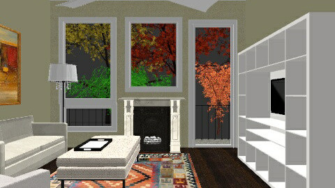 Our Living Room - Living room - by bluecanoe