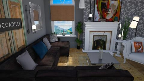 Old and new  - Eclectic - Living room - by Tree Nut