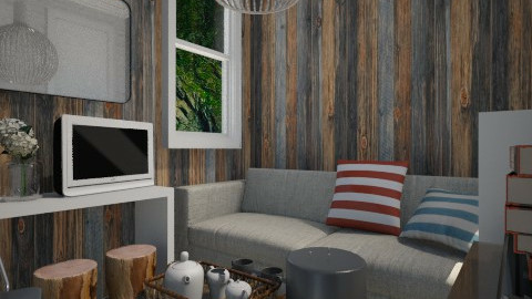 Small Living Space - Eclectic - Living room - by Maria Esteves de Oliveira