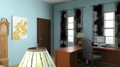 Mum Office - Minimal - Office - by PennyDreadful