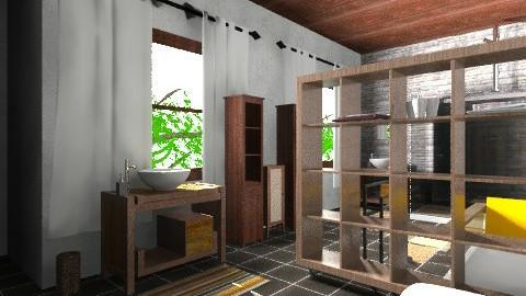saladeban3 - Rustic - Bathroom - by izarochaa