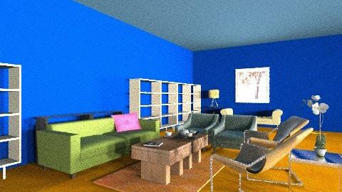 1221 blue - Living room - by Gusak Evaiva