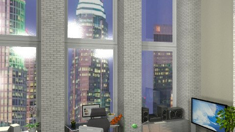 Office 2 - Modern - Office - by Szasza