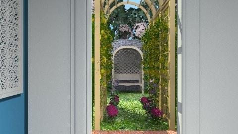 Secret Garden - Country - Garden - by chloedaniella