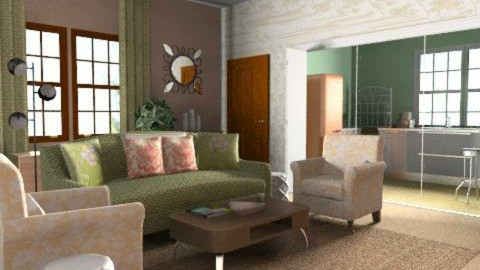 I love Lucy Set - Retro - Living room - by natural11