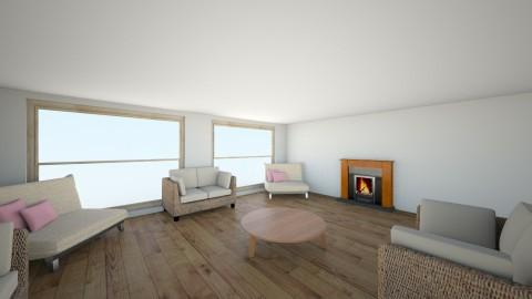 casa paipa - Living room - by gaby_28