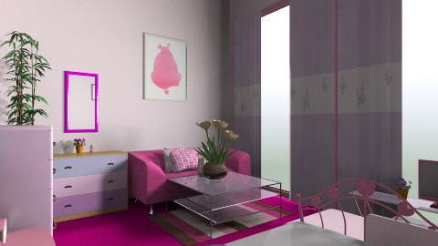 fucking pink - Bedroom - by Ace Bee