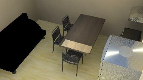 Apartamentico03 - Dining Room - by ricardojgomez