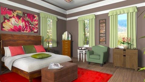 RBG - Classic - Bedroom - by milyca8