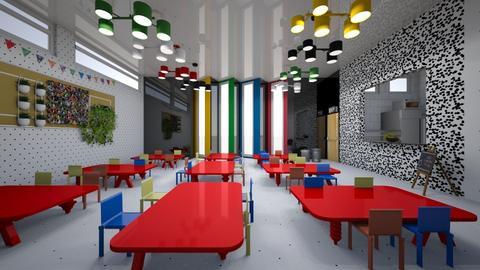 School canteen  - by Mspr