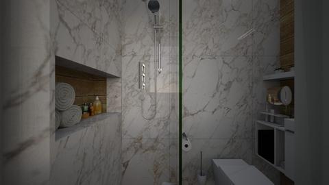 Casa283Bathroom - Modern - Bathroom - by nickynunes