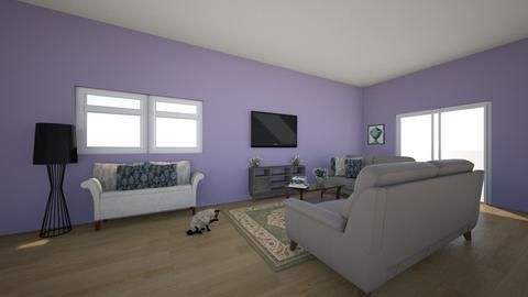 Purple Infusion - Living room - by ellarowe224