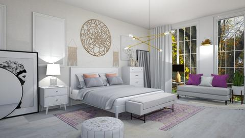 shabby chic bedroom - Bedroom - by ccassidyyevvanns