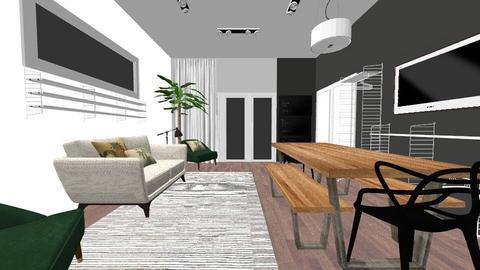 Beth ellis - Kitchen - by homedesigncardiff