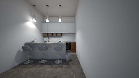 fancy formal brightModern - Modern - Kitchen - by jade1111
