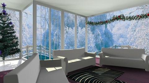 Christmas  - Living room - by Jacquie Ru