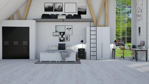 bunkbeds - Modern - Bedroom - by NEVERQUITDESIGNIT