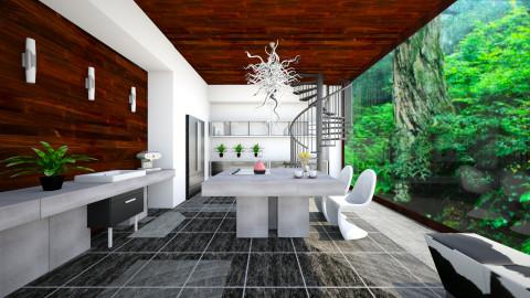 modern rustic kitchen - Rustic - Kitchen - by robbyanthonylee