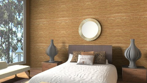 Treacle toffee & sponge - Glamour - Bedroom - by lottie21