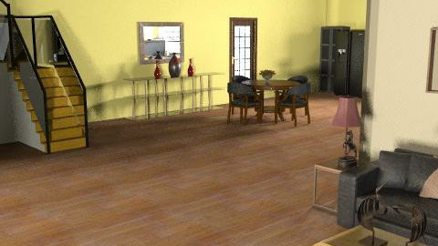 Family Home: Living Room in progress - Classic - Kitchen - by reedj0218