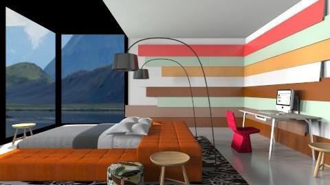 Showroom Bed - Minimal - Bedroom - by 3rdfloor