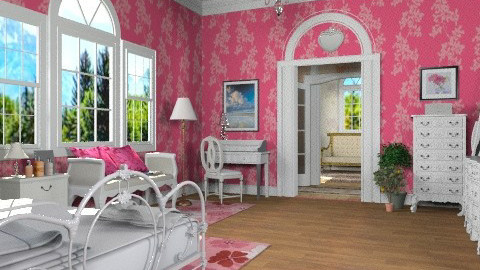 Chic Bedroom - Classic - Bedroom - by Bibiche