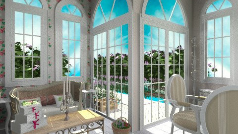 French Summerhouse - Country - Garden - by giulygi