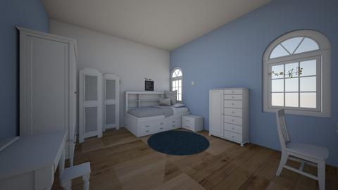 eva room - Bedroom - by begin_girl