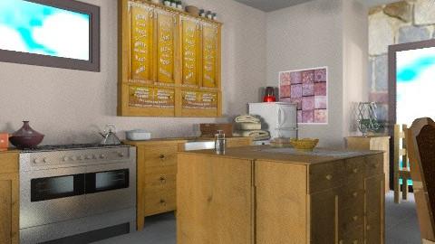 Cocoa - Country - Kitchen - by mrschicken