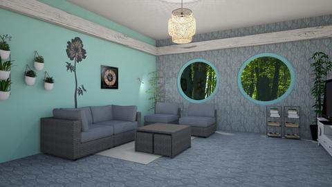 salon 3d - Modern - Living room - by yusuf 2005