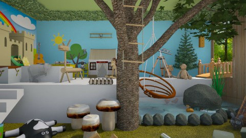 dreamy kids room - Kids room - by miadesign