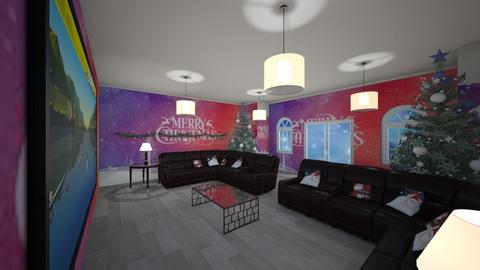 chritmas - Living room - by coolboy95