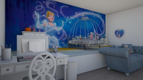 Cinderella Kids Room - Glamour - Kids room - by Avika