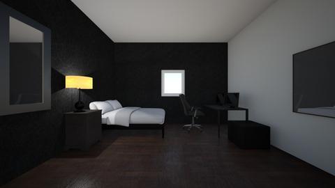 1st room design - Bedroom - by Truancy