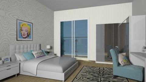 blue dream - Vintage - Bedroom - by julianadm