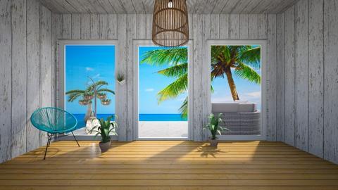 Beach House Interior 2 - by hellohello88