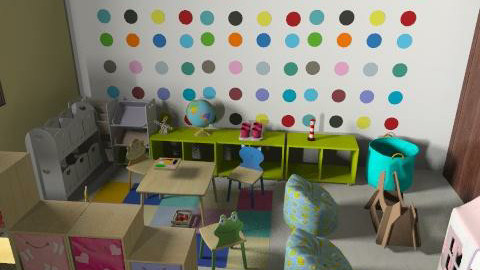 ici daycare v3x - Vintage - Kids room - by mehar