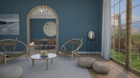 Round shapes - Living room - by Tutsi