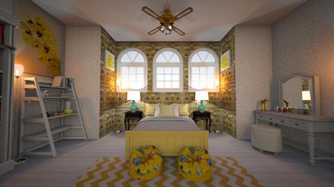 Eclectic Bedroom - Eclectic - Bedroom - by angela18076