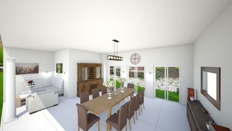 dining room  - Dining room - by ambenevol
