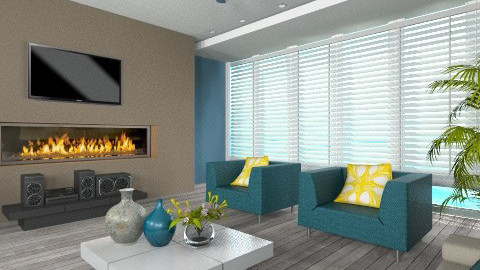 Everly  - Modern - Living room - by Cathygora