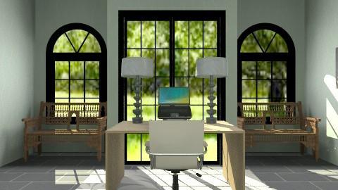 sleek pretty office - Feminine - Office - by dancergirl1243