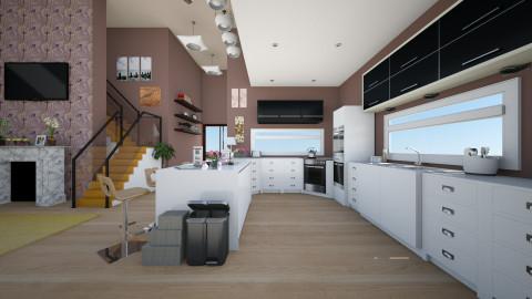 September - Kitchen - by Eduss