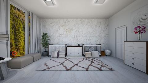 twins - Kids room - by graziapiana123