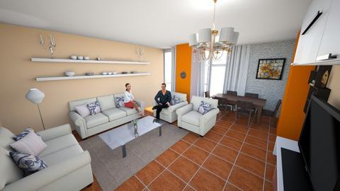Living Room2 - Living room - by Sara Balerina